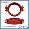 UL Listed, FM Approval Ductile Iron Grooved Rigid Clamps 1 1/4′-42.4