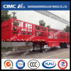 2 Axle Goose-Neck Semi Trailer with 1 Group Stake