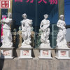 Sichuan Pure White Marble Seasons Lady Statues