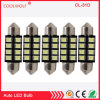 Dome Light LED Bulbs - 31mm-36mm -39mm- 8SMD - 2835, 12V, Ultra Bright Light, C5w 6411 6413 Interior Lamp Bulb Red Blue White Pink Ice Blue
