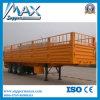 3 Axle 30t Side Wall Cargo Trailer, Fence Semi Trailer for Sale