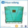 Stacking Foldable Pet Preform Storage Metal Mesh Cage