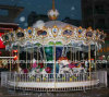 Popular Attraction Outdoor Park Carousel for Amusement Park Super Market