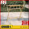 Extendable Clothes Drying Stand with Base