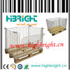 Wire Mesh Pallet Promotion Cages