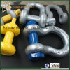 Us Type Galvanized Drop Forged D Shackle G210