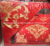100% Cotton Wedding Bedset with Embroidery