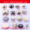 Metal Claw Rivet Nail Head Metal Buttons Metal Bag Studs