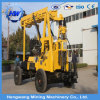 Full Hydraulic Trailer Mounted Rock Diesel Engine Drilling Rig