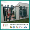 High Quality Palisade Fence / Galvanised Steel Picket Palisade Sliding Gate