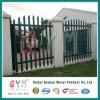 High Quality Palisade Fence / Galvanised Steel Picket Palisade Sliding Gate