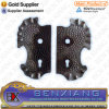 Ornamental Wrought Iron Gate Lock Plate