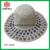 Wide Brim Woven Paper Straw Hats (CPA_90048)