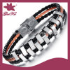 Fashion Jewelry Bracelet Hot Sale Leather Bracelet (2015 Stlb-003)