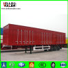 Helloo Brand Heavy Duty Fence Cargo Trailer for Africa