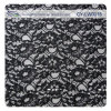 Black Allover Lace Fabric by The Yard (CY-LW0015)