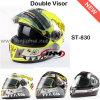 New Double Visor Motorcycle Helmets