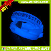 Custom Blue Glow in The Dark Silicone Bracelet (TH-band099)