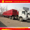 Tri Axle 30m3 Heavy Duty Front Tipping Semi Trailer 2017 Truck Trailer