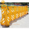 Roadside Crowd Control Yellow Expandable Plastic Barricade