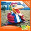 Cartoon Duck Amusement Park Plastic Doll Decoration Equipment for Sale