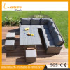 Durable Latest Garden Patio Leisure Outdoor Furniture Lounge Wicker Rattan Long Sofa Set