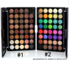 Pearly Lustre Matte Color No Logo Makeup Eye Shadow Palette 40 Color