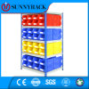 Light Weight Economical Stackable Plastic Storage Bin for Warehouse Shelving