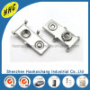 Custom Metal Stamping Nickel Plated Brass Auto Connector Terminal
