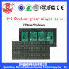 Outdoor Single Green P10 LED Display Module Green for Advertising Board