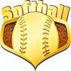 Promotional Gift Zinc Alloy Softball Medal