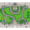 Castle Style Children Game and Educational Mat