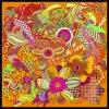 Beautiful Fashion Digital Printed Custom Silk Scarf (F13-0053)
