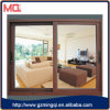 Aluminium Wooden Color of Window Sliding Window