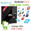 Amlogic S912 64bit Android Smart Kodi TV Box with Your Logo&Apk