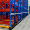 Mobile Pallet Rack for Low Temperature Warehouse