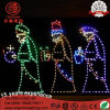 LED 1.5m IP65 Large Nativity 3 Wise Men Holiday Outdoor Christmas Light for Lawn Decoration