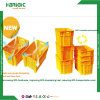 New Stylish Nestable and Stackable Plastic Vegetable Crate