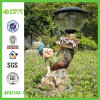 Garden Gnome Welcome Solar Lawn Lamp (NF82143-1)