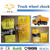 Yellow Plastic Wheel Chock for Truck