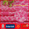 Pink Polyester Polyamide Lycra Knit Fabric (WNE3126)