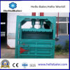 automatic waste paper, straw, textile, cotton, metal, bottles strapping pressing baler