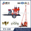 Defy Brand/Most Portable 100m Trailer Mounted Spt Drilling Rig for Soil Test