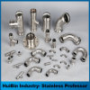 201 304 Stainless Steel Food Grade Butt Weld Sanitary Pipe Fitting