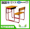 Classroom Furniture Combo Wood Single School Desk and Chair (SF-90S)
