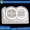 Number Logo Metal Badge Pin for Souvenir OEM Factory Custom