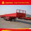 3 Axle Truck Trailer 50ton 80ton Cargo Semi Trailer Utility Trailer