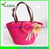 2015 Luda Beautiful Wheat Straw Tote Bag
