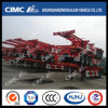Cimc Huajun 40FT 3axle Straight-Beam Skeleton Trailer