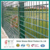 Galvanised Steel Double Edged Wire Panel / 656 Powder Coated Double Wire Fence